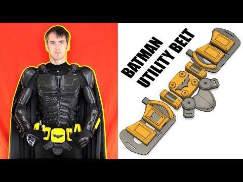 3D Printed Batman Cosplay Suit #4 with Ninjaflex   XRobots