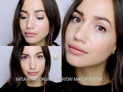 Tutorial : Everyday Natural & Organic Makeup Routine