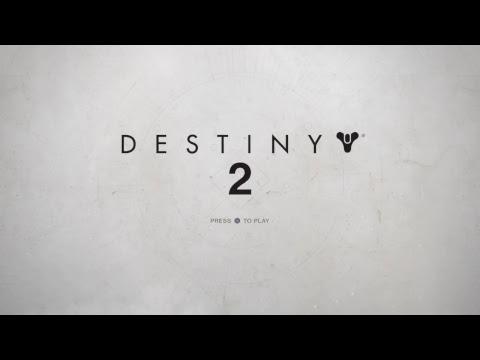 Destiny 2 main menu {LIVE} PS4