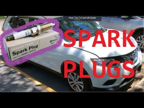 How to replace Spark plugs / Ignition coils on 13-20 Nissan rogue qashkai 2015 2016 2017