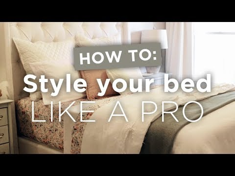 How To: Style Your Bed Like a Pro