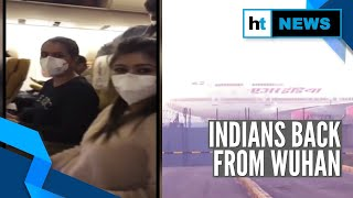 Air India's jet carrying Indians from coronavirus-hit Wuhan lands in Delhi