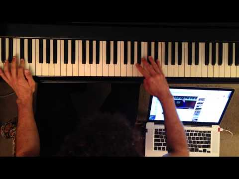 Jazz Piano Lesson: Play arpeggios and shapes fast and with musicality