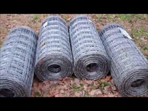 Homemade Woven Wire Unroller ~ Field Fencing De Reeler