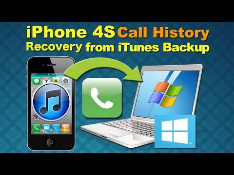 Call Logs Recovery for iPhone 4S: How to Retrieve Call logs from iPhone 4S iTunes Backup