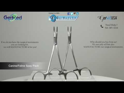 Veterinary Spay Pack - Veterinary Surgical Equipment