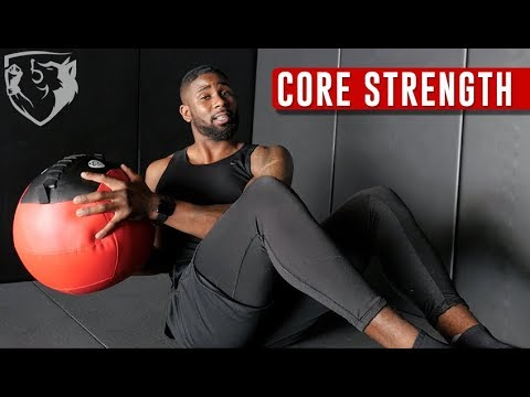 5 Core Strengthening Exercises with a Medicine Ball