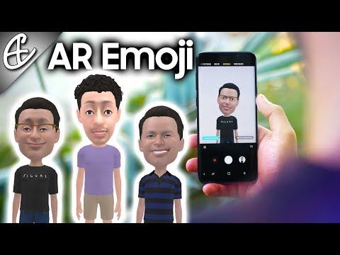Galaxy S9 AR Emoji - NOT an Animoji Ripoff!
