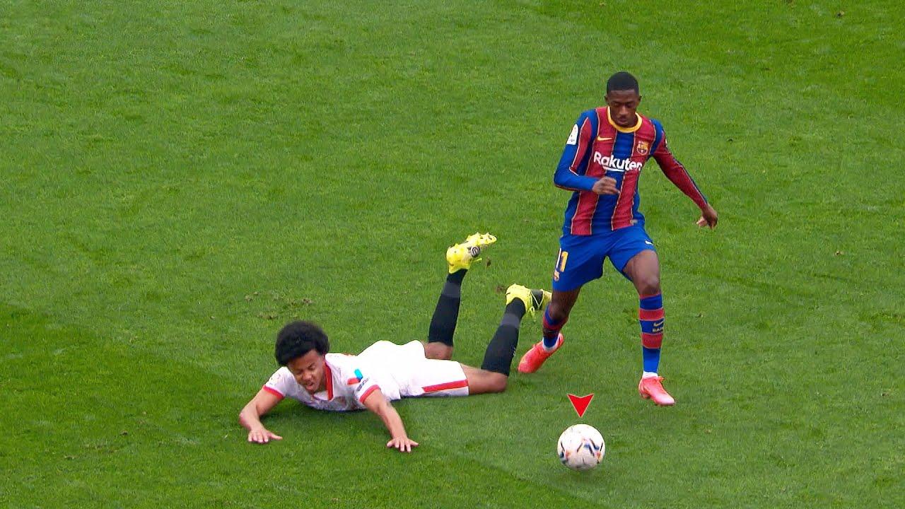 Ousmane Dembélé is The Most Entertaining Player