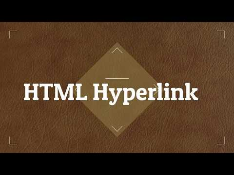 Html Hyperlink - how to use link in html (web development  part 10 hindi)