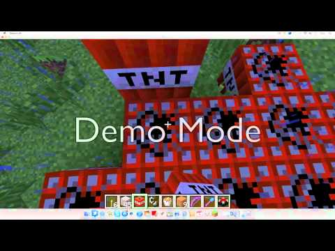 How To Detonate TNT In Minecraft Creative Mode | #1