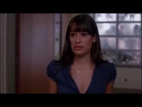 Glee   Finn and Rachel break up because Rachel cheated 2x09