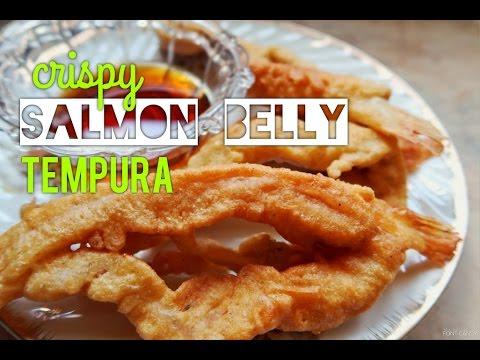Crispy Salmon Belly Tempura | Tempura | Tempura Recipe | Cookph [HD]