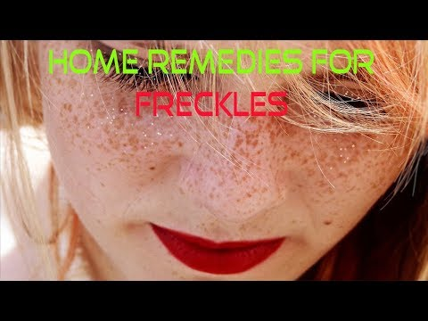 Home Remedies for Freckles   How To Get Clear Skin At Home