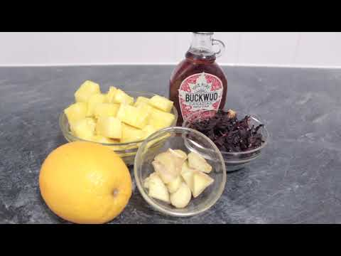 How to Make the Best SUGAR-FREE Sorrel Drink   Zobo Drink   Hibiscus Drink   Roselle Drink