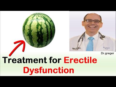 Erectile Dysfunction Treatment ? - Dr Michael Greger
