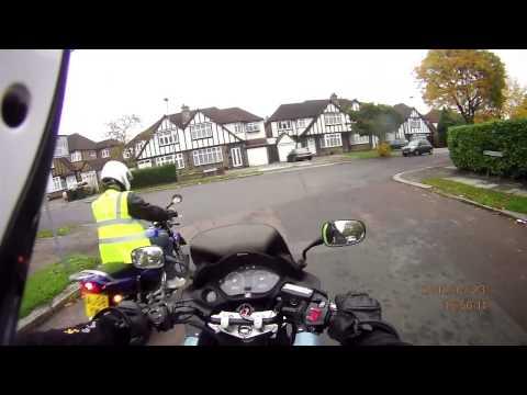 North London Motorcycle Training CBT Audi overtaking