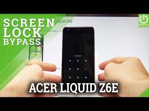 Hard Reset ACER Liquid Z6E - Clear eMMC / Bypass Screen Lock
