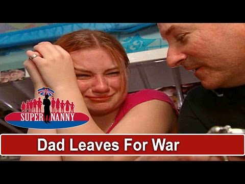 Dad Gives Teen Daughter Heirloom Before Leaving For War | Supernanny