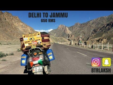 DELHI TO JAMMU | LADAKH |TVS JUPITER | 2017