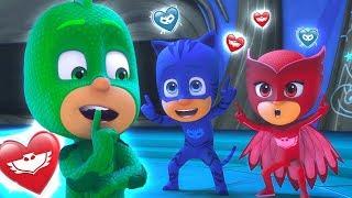 PJ Masks Season 2 'Love Friends' ❤️Valentine's Day Special ❤️30 MINUTES | HD | PJ Masks Official