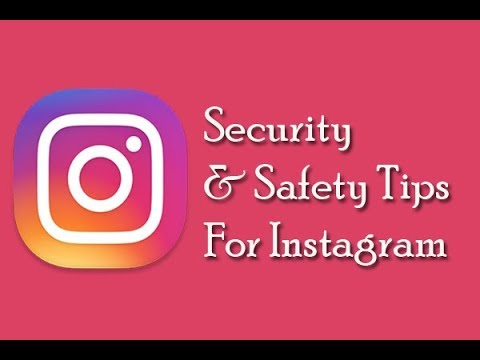 Security and safety tips for Instagram
