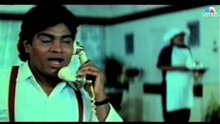 Johnny Lever as a Head Servant who Forgets Everything (Baazigar)