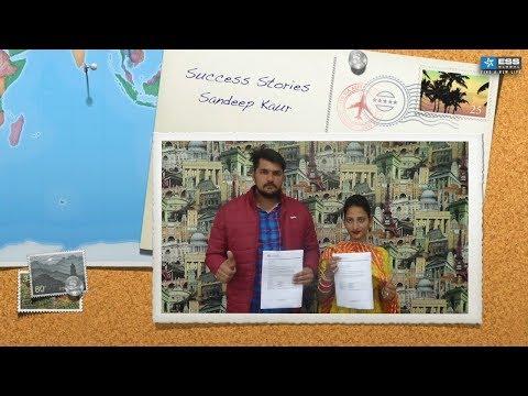 Success Stories - Sandeep Kaur - Australia Study Visa