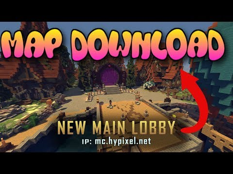 Minecraft: Xbox 360/One/PS3/PS4/Pocket Edition - Hypixel's Server Lobby MAP DOWNLOAD