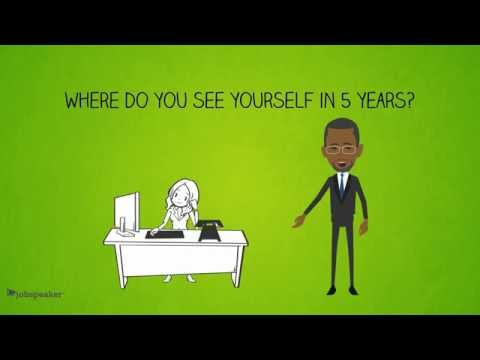 Jobspeaker Interview Series: Where Do You See Yourself in 5 Years?