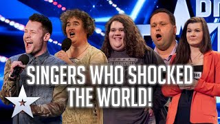 SINGERS WHO SHOCKED THE WORLD! | Britain's Got Talent