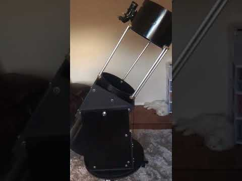 Video 003. Build Your Own Newtonian 12 Inch Reflector Telescope Using Arduino And Stepper Motors