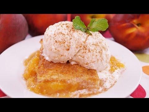 Peach Cobbler Recipe:  How to Make Peach Cobbler: From Scratch: Di Kometa: Dishin With Di # 143