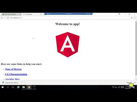 Angular is easy - configure system and create your first Angular 5 App