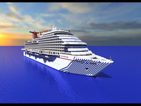 Minecraft Cruise Ship- Carnival Breeze [Full Interior][+Download]