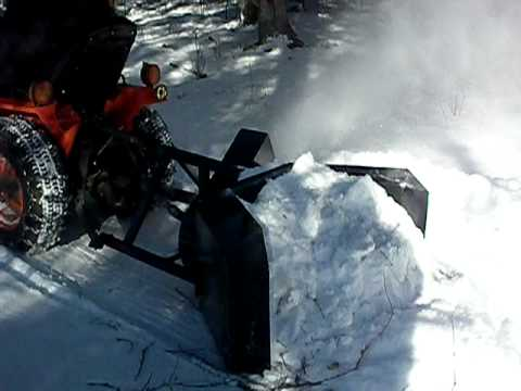 Homemade Single stage snowblower