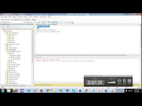 SQL Server Bangla Tutorial 5   Create, Alter, Drop table