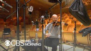 Birthplace of rare Stradivarius violins preserving instruments