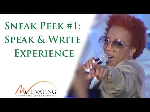 Sneak Peek #1: The Speak & Write Experience