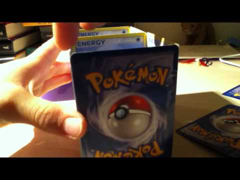 yugioh how to make a double deck box out of pokemon cards (part 2)