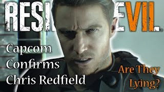 RESIDENT EVIL 7 | Chris Redfield CONFIRMED, But Is It REALLY Chris? | RE7 Not A Hero DLC