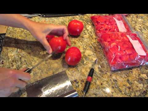 DIY How Do You Freeze Tomatoes STEP BY STEP INSTRUCTIONS Tutorial