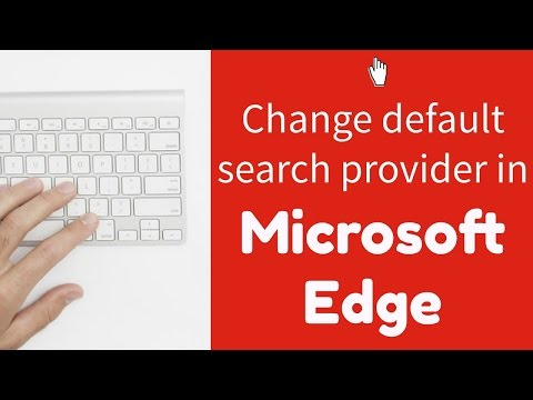 Windows 10 Tip #6: Change the default search provider in Microsoft Edge
