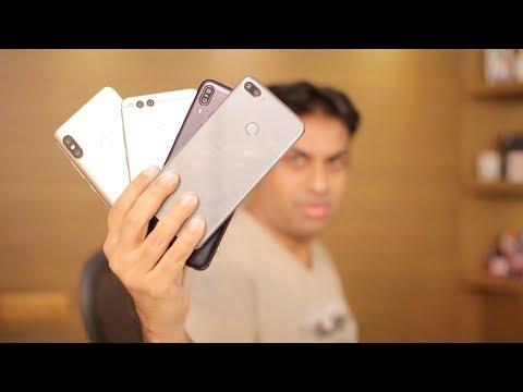 Hottest Mid Range Smartphone Comparison RN5 Pro, Zenfone Max Pro, Honor 7x & Honor 9 Lite