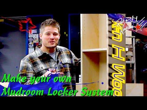 Mudroom / Garage Locker System