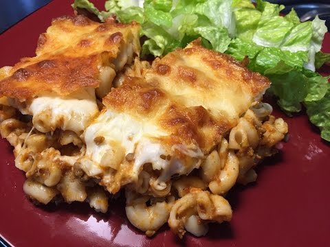 Easy Bake Macaroni Lasagna Recipe