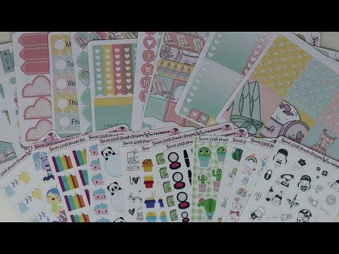 Sweet Little Panda Designs Facebook Sticker Haul!!