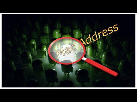 How to find mac address Android
