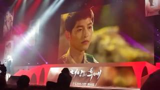 160514 Gummy You Are My Everything 'Descendants of the Sun' OST Concert Song Song Couple