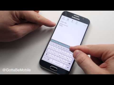 Supercharge the Galaxy S6 Keyboard